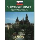 Sada oběžných mincí Slovenské republiky 1996