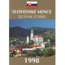 Sada oběžných mincí Slovenské republiky 1998