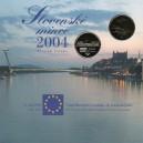Sada oběžných mincí Slovenské republiky 2004 - Vstup SR do Eu