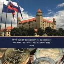 Sada oběžných mincí Slovenské republiky 2009 - První soubor slovenských euromincí