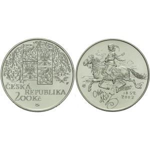 Pamětní stříbrná mince Mikoláš Aleš - Proof