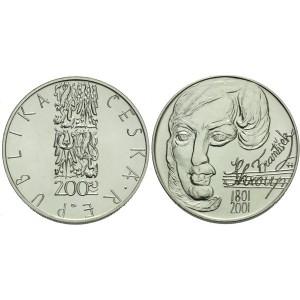 Pamětní stříbrná mince František Škroup - Proof