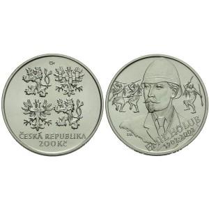 Pamětní stříbrná mince Emil Holub - b.k.