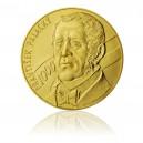 2012 -Zlatá investiční medaile s motivem 1000 Kč bankovky - František Palacký - 1kg