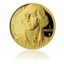 2012 - Zlatá medaile George Washington - Au 1 Oz