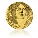 2011 - Zlatá investiční medaile s motivem 2000 Kč bankovky - Ema Destinnová, 1kg