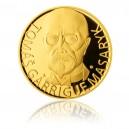 2012 - Zlatá medaile 75 let od úmrtí T.G. Masaryka - Au 1 Oz