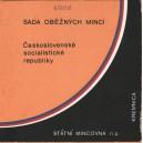 Sada oběžných mincí ČSSR 1986