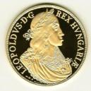 Zlatá 20-ti dukátová medaile Leopold I.