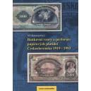 Bankovní vzory a perforace papírových platidel Československa 1919-1993