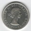 Stříbrná mince Charlottetown - Quebec 1964