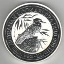 Stříbrná investiční mince Kookaburra 1992 - 1 Kg