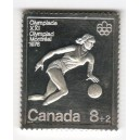 Silver Stemps Set Summer Olympic Games 1976 Montréal