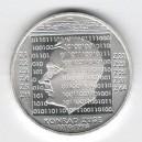 Stříbrná pamětní mince Konrad Zuse 2010, b.k.