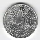 Stříbrná pamětní mince Římské dohody 2007, b.k.