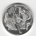 Stříbrná pamětní mince Německé muzeum v Mnichově 2003, b.k.