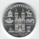 Stříbrná pamětní mince Magdeburg - 1200 let od založení 2005, b.k.