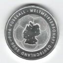 """Stříbrná pamětní mince MS ve fotbale 2006 """"Mapa"""" 2003, b.k."""