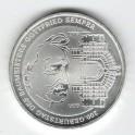 Stříbrná pamětní mince Gottfried Semper 2003, b.k.