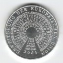 Stříbrná pamětní mince Evropská unie 2004, b.k.