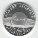 Stříbrná pamětní mince Albert Einstein - 100 let teorie relativity 2005, b.k.