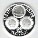 2001 - Stříbrná medaile Škoda Auto a.s.