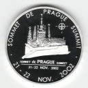 2002 - Stříbrná medaile Summit NATO v Praze