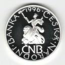 1996 - Stříbrná medaile 70. výročí založení Národní banky Československé