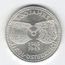 Stříbrná pamětní mince Tyrolsko 1963, b.k.