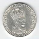 Stříbrná pamětní mince Rudolf IV. Habsburský a Vídeňská univerzita 1965, b.k.