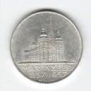 Stříbrná pamětní mince Mariazell 1957, b.k.
