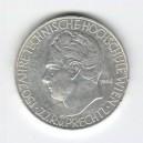 Stříbrná pamětní mince Technická univerzita Vídeň, 1965, b.k.