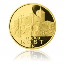 2013 - Zlatá medaile Hrad Kost - Au 1 Oz