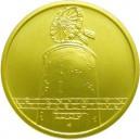 Zlatá mince Kulturní památka větrný mlýn v Ruprechtově - b.k.