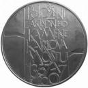 Stříbrná pamětní mince Karlův most - b.k.