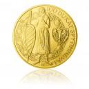 2013 - Zlatá investiční mince 250 NZD 100dukát Spytihněva I.