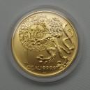 1996 - Zlatá mince Pražský groš, b.k.
