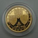 1998 - 2.500,-Kč - Zlatá mince KAREL IV., Proof