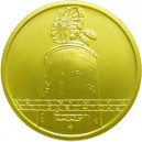 Zlatá mince Kulturní památka větrný mlýn v Ruprechtově - Proof