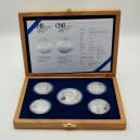 Kompletní sada stříbrných pamětních mincí ČNB roku 2011, Proof