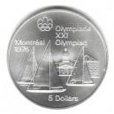 Stříbrná pamětní mince LOH Montreal 1976 - Jachting, b.k. - rok 1973