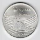 Stříbrná pamětní mince LOH Montreal 1976 - Olympijská vesnice, b.k. - rok 1976