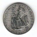 Stříbrná pamětní mince Walther von der Vogelweide, b.k. 1980