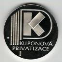 1995 - Stříbrná medaile Kuponová privatizace