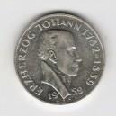 Stříbrná pamětní mince Jan Habsbursko-Lotrinský 1959, b.k.