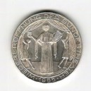 Stříbrná pamětní mince Vídeňská státní opera 1955, b.k.