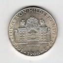 Stříbrná pamětní mince Lukas von Hildebrandt 1968, b.k.