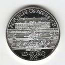 Stříbrná pamětní mince Zámek Schlosshof, Proof, rok 2003