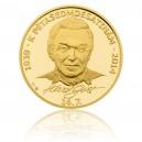 2013 - Zlatá medaile Karel Gott - Au 1 Oz - číslováno