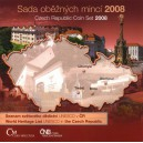 Sada oběžných mincí České republiky 2008 - ME ve fotbale